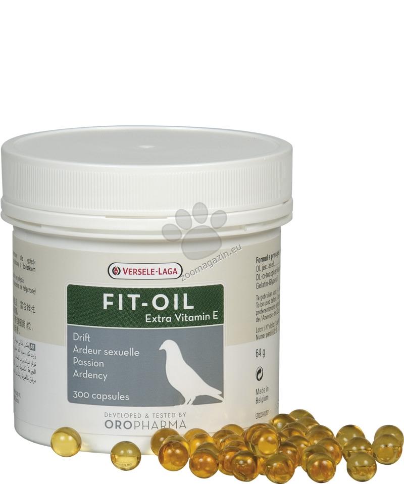 Versele Laga - Oropharma Fit-Oil - капсули екстракт черен дроб треска 300 броя