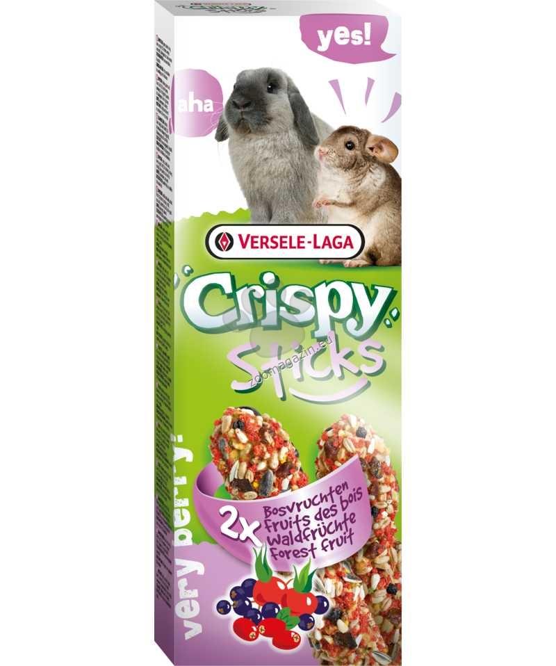 Versele Laga - Crispy Sticks Forest Fruit - крекери  с горски плодове 2 х 55 гр.