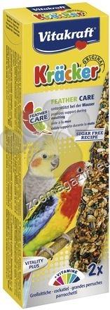Vitakraft - Kraecker - крекер за здраво и красиво оперение за средни папагали  2 бр.