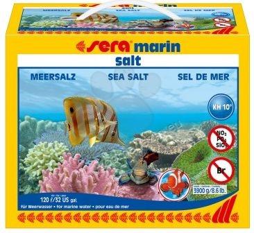 Sera - Sea Salt - морска сол за Вашия соленоводен аквариум 3900 гр.