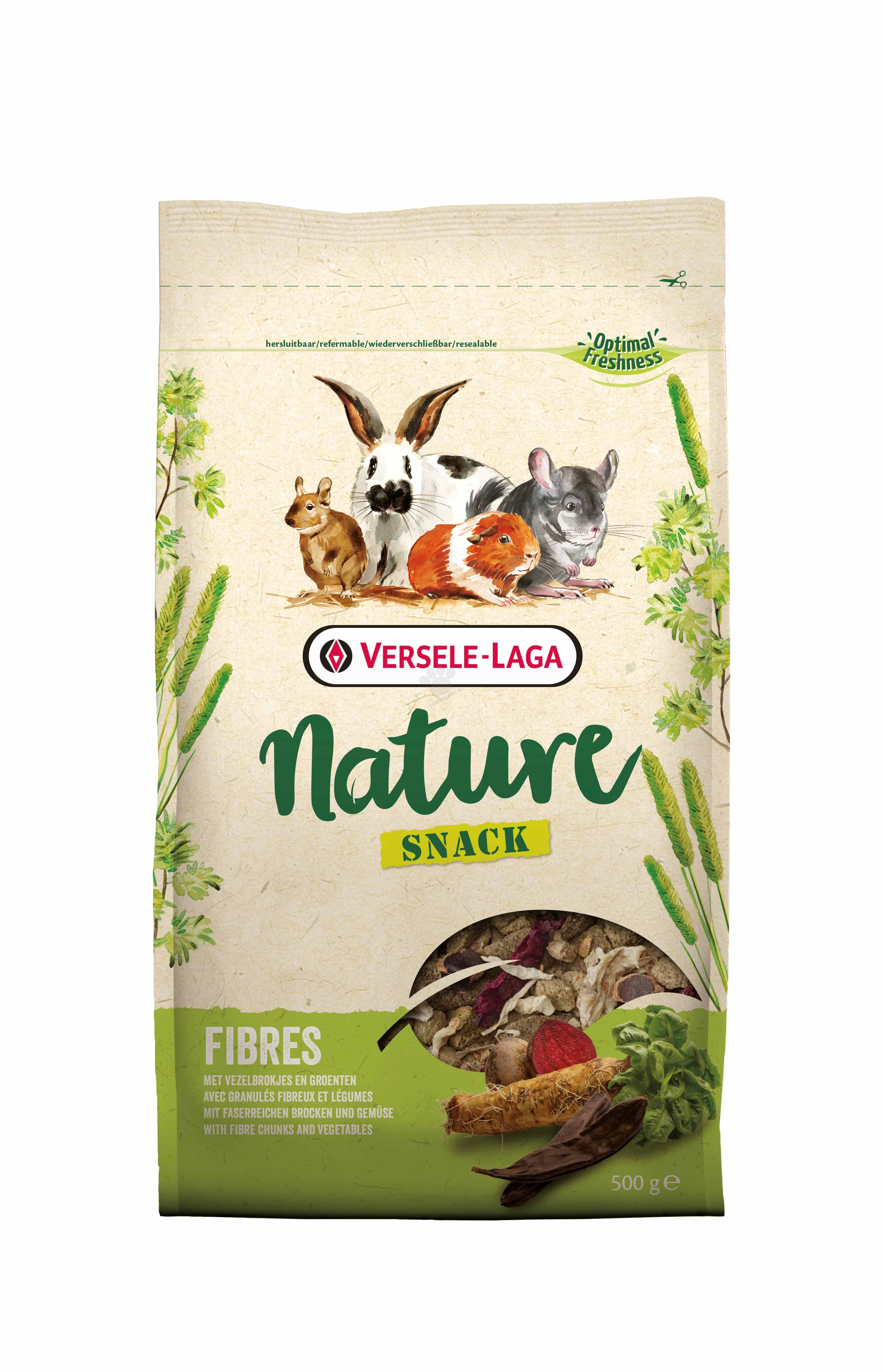 Versele Laga - Nature Snack Fibers - разнообразна фибри закуска 500 гр.