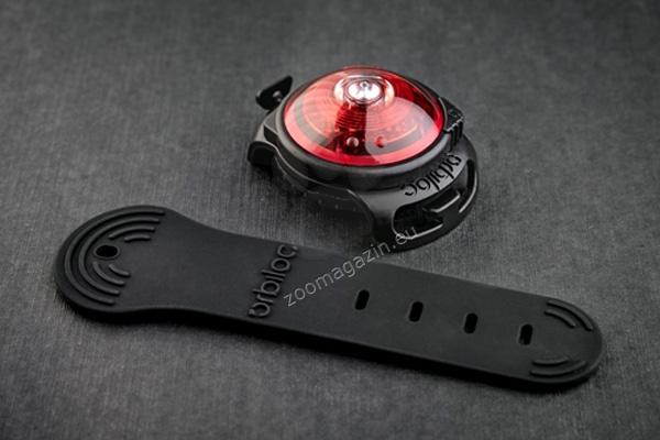 Orbiloc Dual Safety Light Red - най-добрият флашер за Вас и Вашето куче, червен