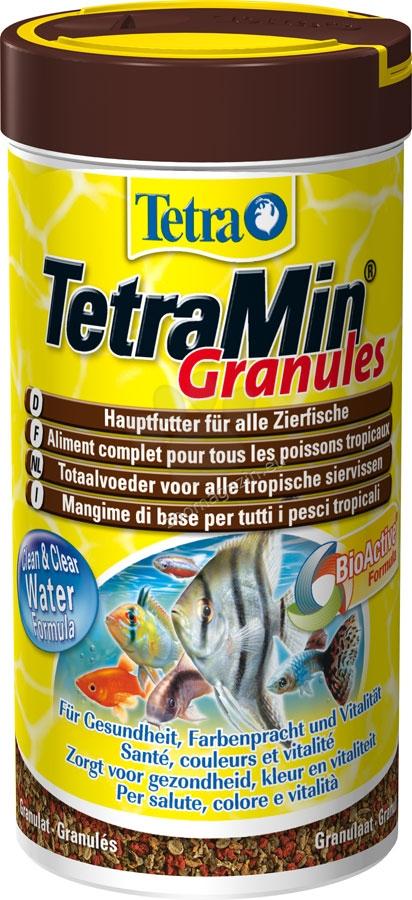 Tetra - TetraMin Granules - универсална храна за всички видове тропически риби 250 мл.