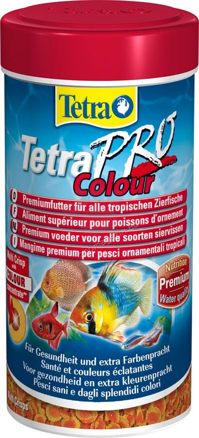 Tetra - TetraPro Colour - пълноценна храна за всички видове тропически риби 500 мл.