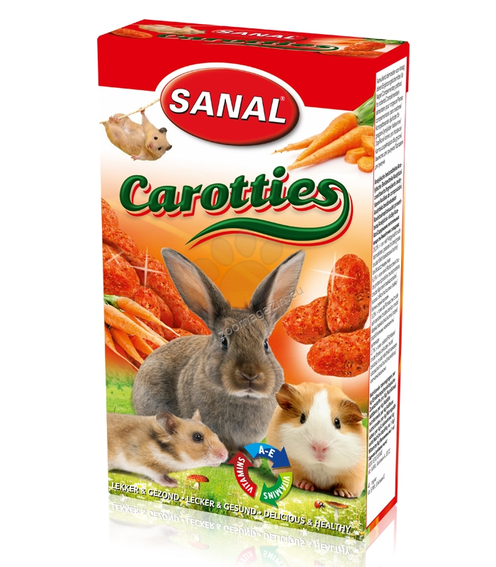 Sanal Rodent Carotties - лакомство с моркови 45 гр.