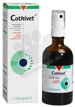 Vetoquinol - Cothivet - спрей за ускоряване зарастването на рани 100 мл.