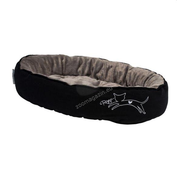 Rogz Snug Podz Jumping Cat - комфортно дизайнерско меко легло 40 / 32 / 8 см.