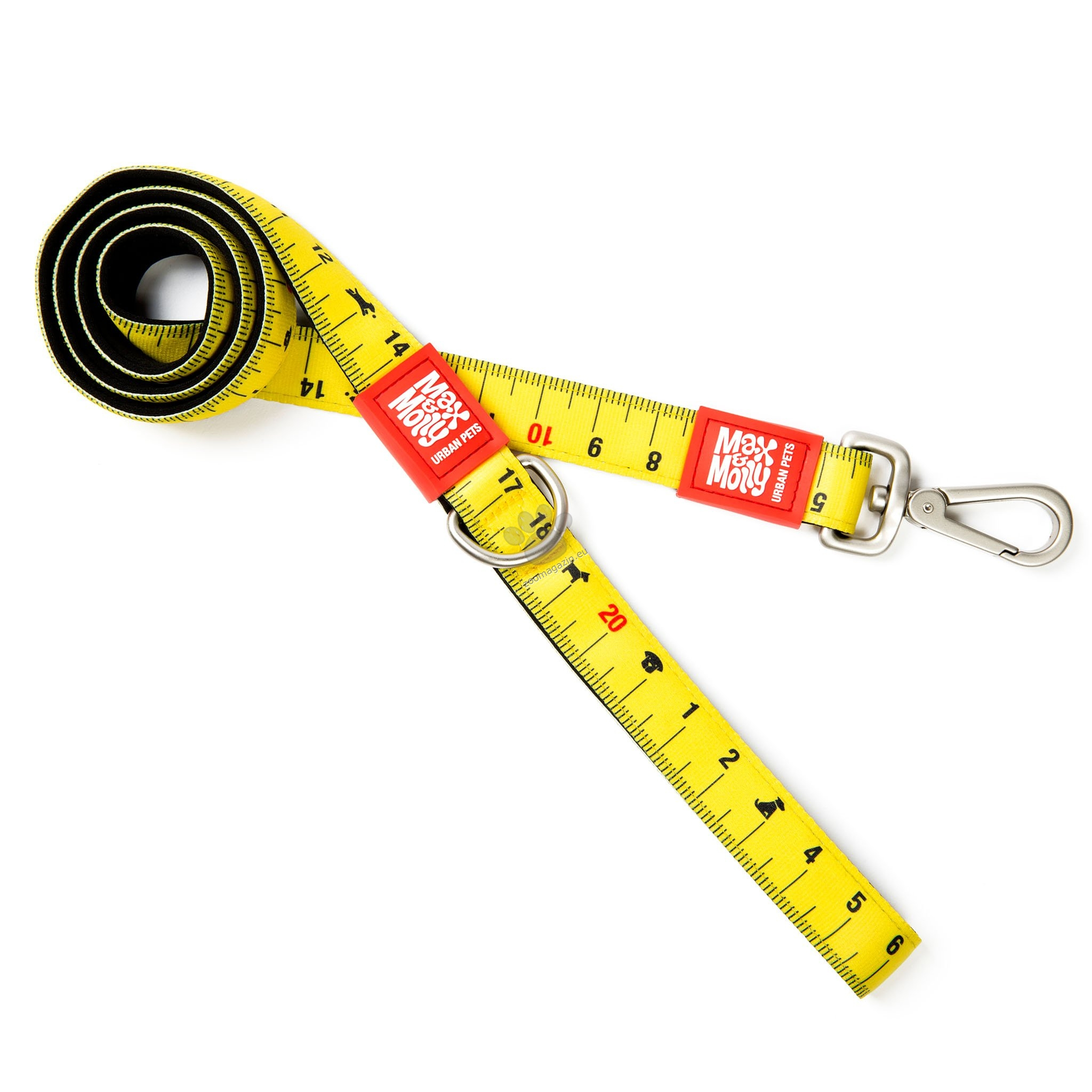 Max Molly Short Leash Ruler S - повод 120 см. / 15 мм.