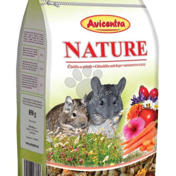 Avicentra Nature chinchilla and degu - храна за чинчила и дегу 850 гр.