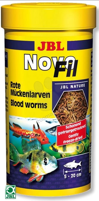 JBL NovoFil - ларви на червени комари 100 мл.