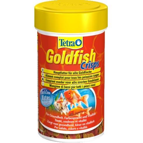 Tetra - Goldfish Crisps - храна за златни рибки хрупкави хапки 100 мл.