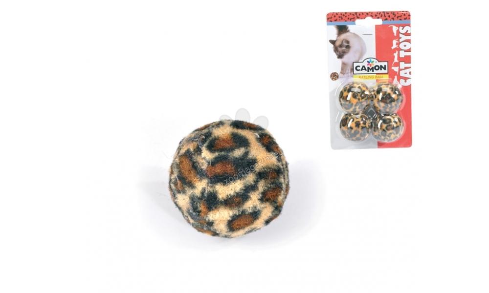 Camon Leopard-skin balls - топчета за игра 4 см., 4 броя