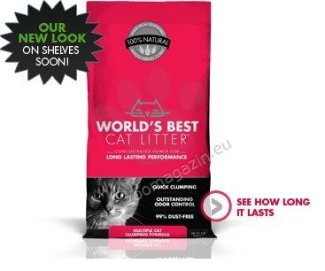 Worlds Best Cat Litter Multiple cat - най добрата тоалетна за Вашият дом 3.18 кг.