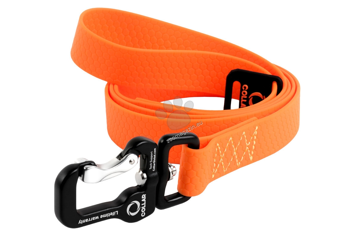 COLLAR EVOLUTOR - най издръжливата каишка в Европа 300 см. / 25 мм. / оранжева, черна /