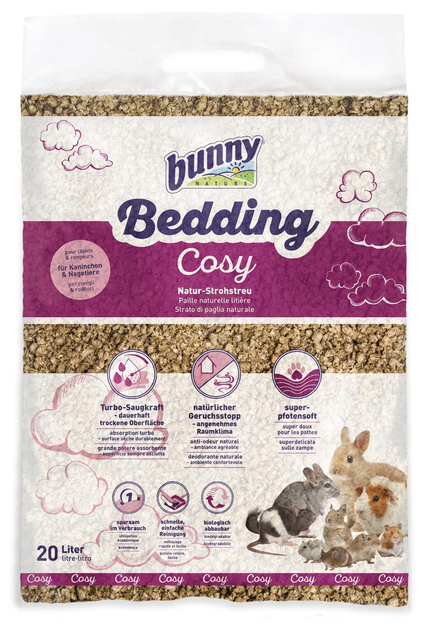Bunny - Bedding Cosy - турбо абсорбция, запазва суха повърхността 20 литра