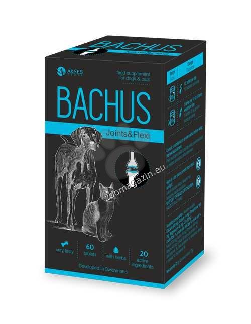 Bachus Joints&Flexi - поддържа подвижността на ставите и структурата на хрущялите 60 таблетки