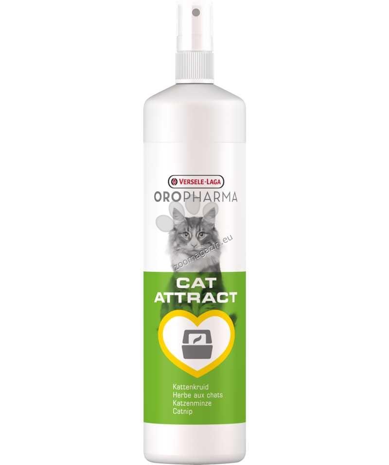 Versele Laga - Oropharma Cat attract - спрей за привличане на котки на определено място с коча трева 200 мл.