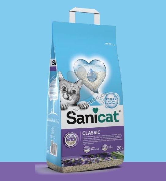 Sanicat Classic Lavender - абсорбиращ класически бентонит / лавандула / 20 литра