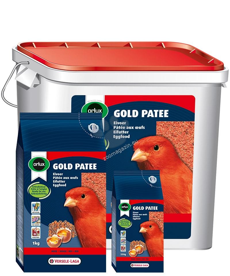 Versele Laga - Orolux Gold Patee Red Canaries - мека яйчна храна за червени канари 5 кг.