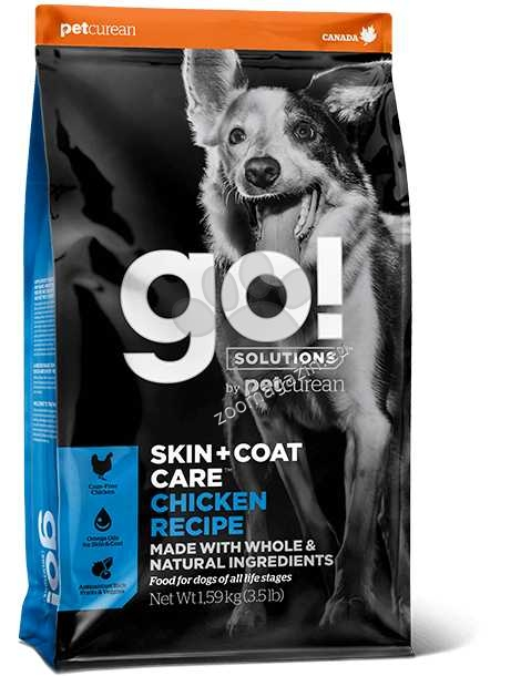 Go Solutions Skin + Coat Care Chicken Recipe - с пилешко месо 11.4 кг.