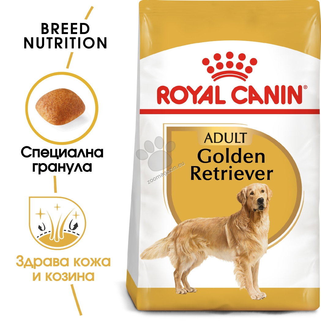 Royal Canin Golden Retriever Adult - за кучета порода голдън ретривер на възраст над 15 месеца  3 кг.