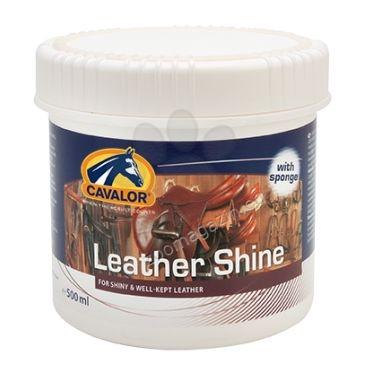 Cavalor Leather Shine - балсам за кожата на амунициите, който да я поддържа и да я прави мека 500 мл.