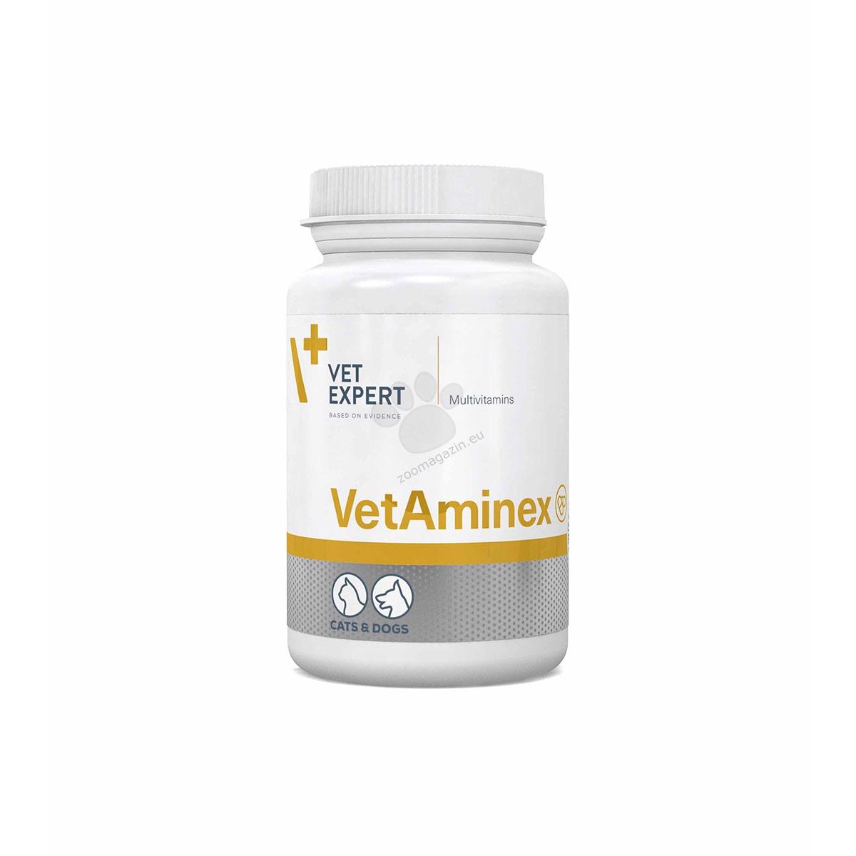 Vetexpert - VetAminex - комплекс витамини и минерали в една вкусна капсула 60 капсули