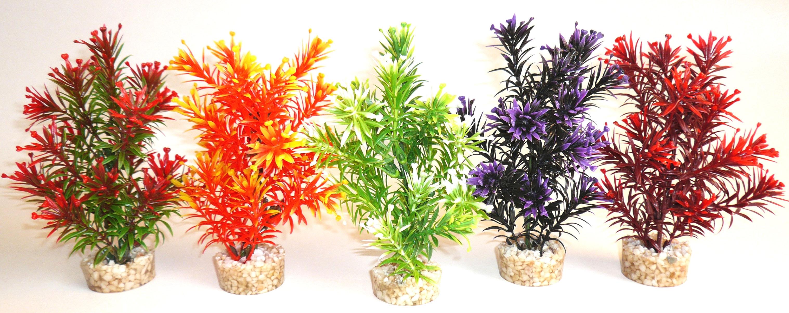 Sydeco Tropica 20 см. / червено, зелено, лилаво, бордо, оранжево /