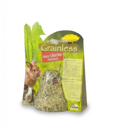 JR Farm Grainless hay bell hibiscus -  без зърнена камбана със сено и хибискус 125 гр.