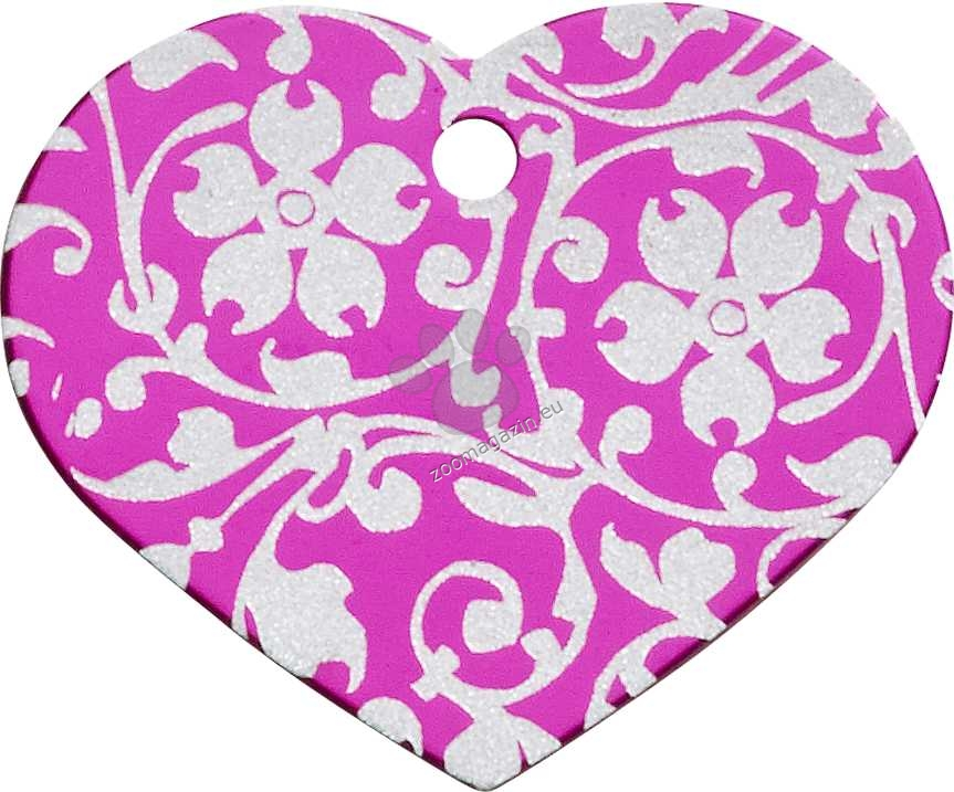 iMARC - Pink Floral Ornate Heart