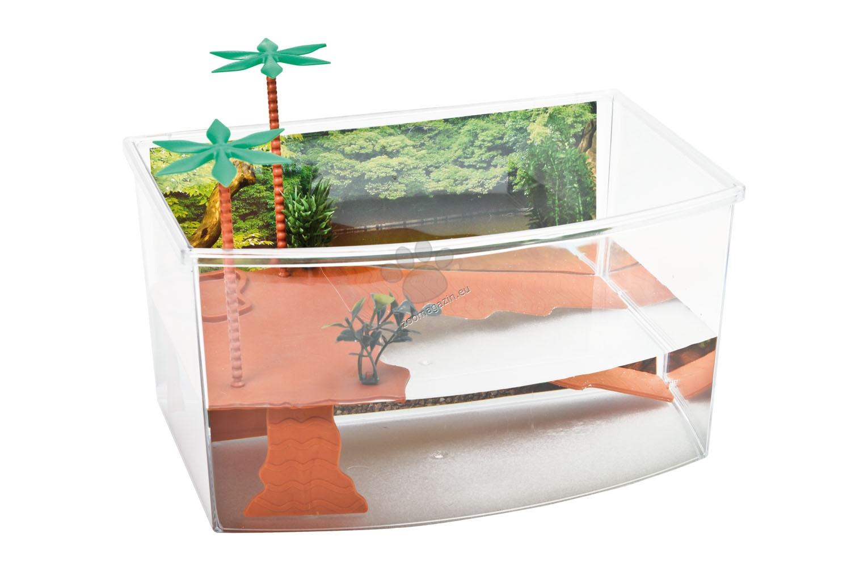 Georplast - Tortuga Mini - терариум за водни костенурки 27 / 19 / 15 см.