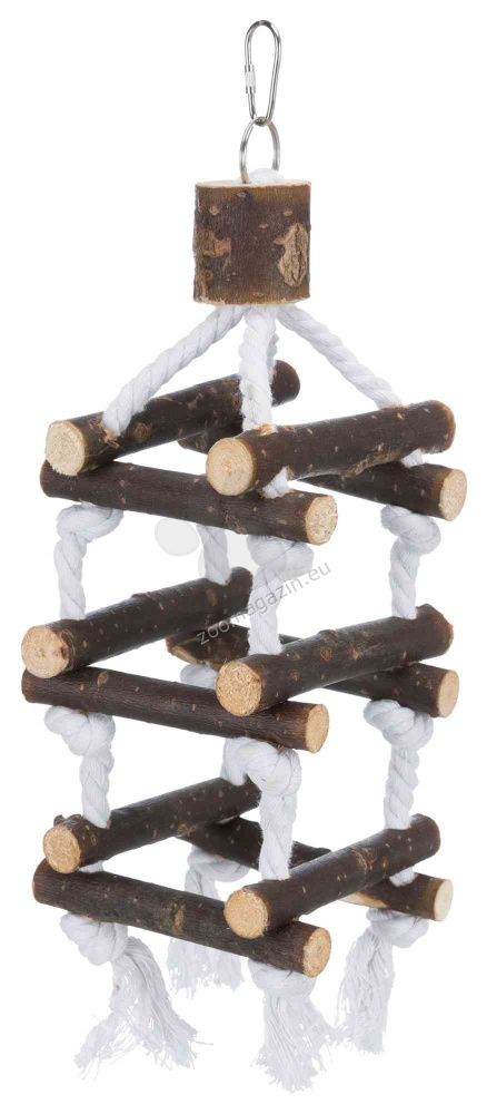 Trixie - Natural Living Tower with Rope - играчка 34 см.