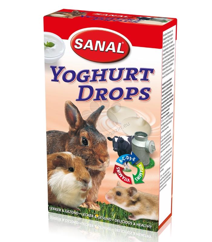 Sanal Rodent Yoghurt Drops - млечно деликатесно лакомство за гризачи 45 гр.