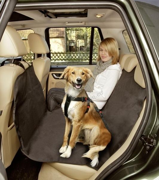 Flamingo Safe Easy - постелката за задна седалка, предпазва интериора на вашия автомобил от влага и мръсотия 160 / 129 см.