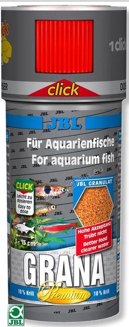 JBL Premium Grana Click - основна храна за рибки 100 мл.