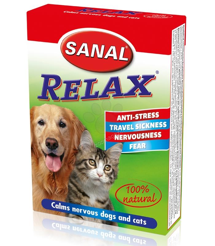 Sanal Cat/Dog Relax - успокояващи таблетки 15 таблетки