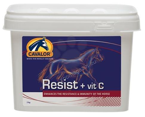 Cavalor Resist + Vit. C - при ослабен имунитет, податливост на инфекции 2 кг.