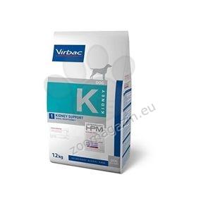 Virbac Kidney Support - Диетична храна за кучета с бъбречна недостатъчност 12 кг.