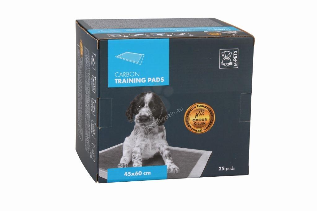 M-Pets Carbon Dog Training Pads - подложки с активен въглен 60 / 45 см., 25 броя