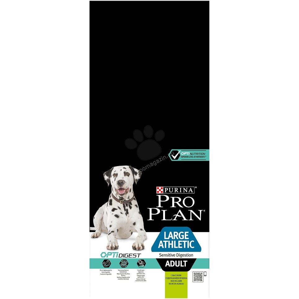 Pro Plan Optihealth Adult Large Sensitive Digestion - с агнешко месо, за кучета над 18 месеца и тегло над 25 кг. 14 кг.