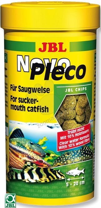 JBL NovoPleco - основна храна за дънни риби 5500 мл. / 2.9 кг. /