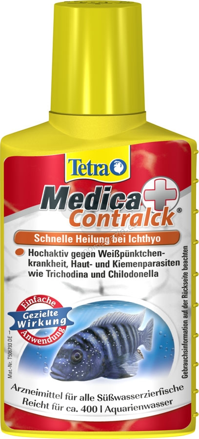 Tetra - Medica Contralck - за лечение на бели точки, Costia и Chilodonella 500 мл.