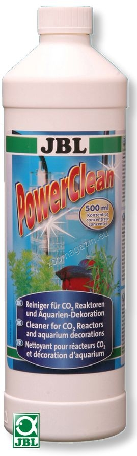 JBL Power Clean - препарат за цялостно почистване и дезинфекция на аквариумно оборудване 500 мл.