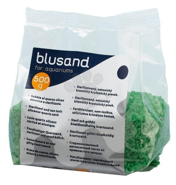 Ferplast - Blusand Green - цветен пясък зелен 500 гр.