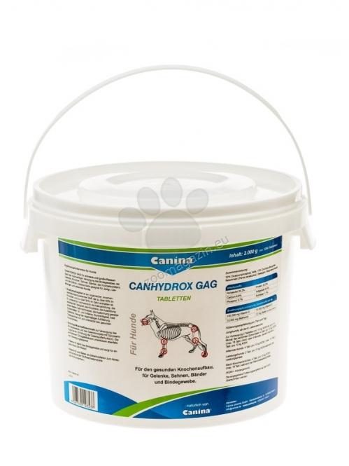 Canina Canhydrox GAG /нова формула/ - хранителна добавка за кучета за укрепване на съединителната тъкан, ставите, хрущялите, костите, зъбите, връзките и сухожилията, 1200 таблетки /2000 грама/