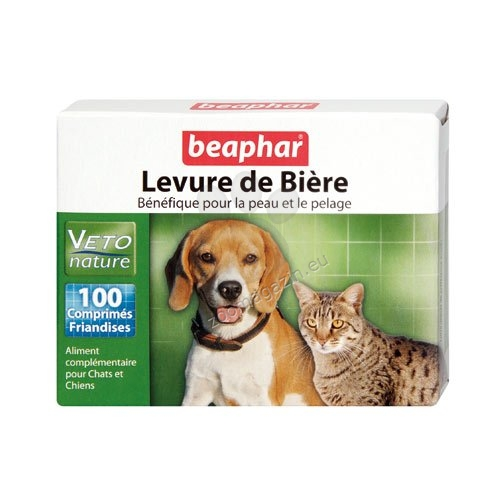 Beaphar Levure de Biere - бирена мая на таблетки 100 броя