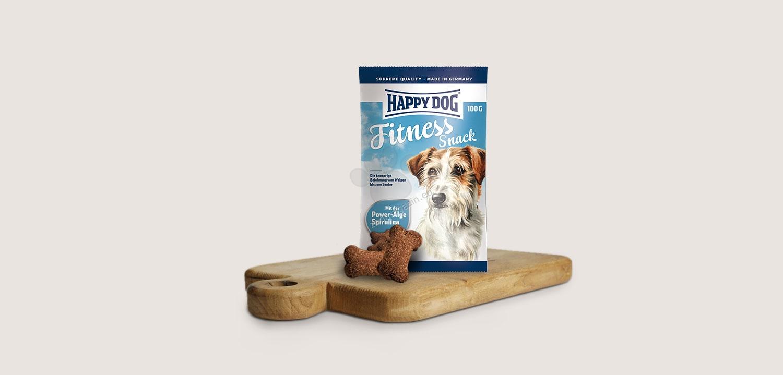 Happy Dog Supreme Fitness Snack - деликатесни бисквити за активни и работни кучета 100 гр.