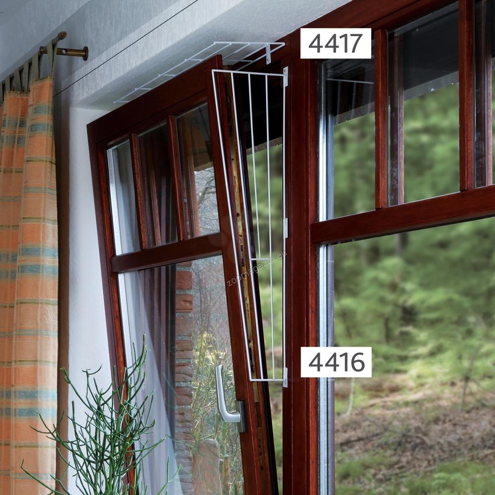 Trixie Protective Grille for Windows -προαστατευτικό πλέγμα για παράθυρα/πλαϊνό τμήμα/ 62 × 16/8 cm