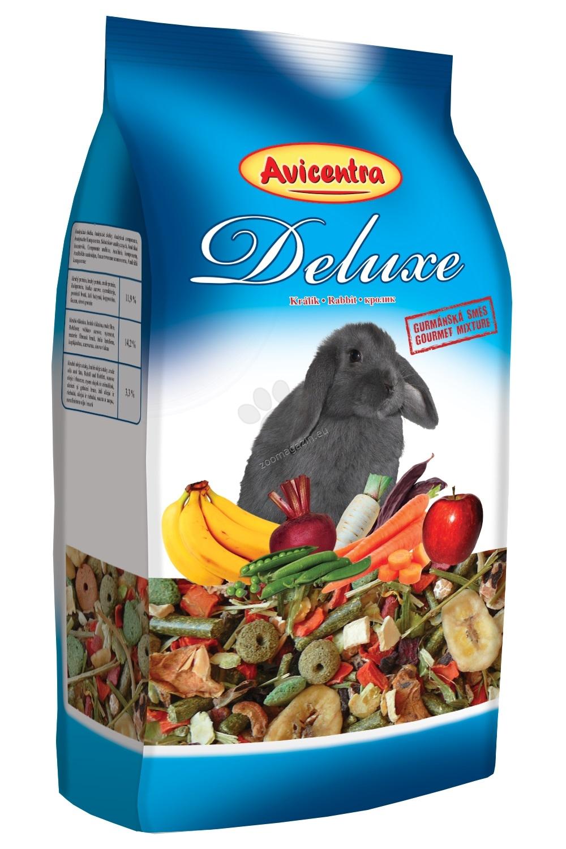 Avicentra Deluxe rabbit - пълноценна храна за мини зайчета 500 гр.