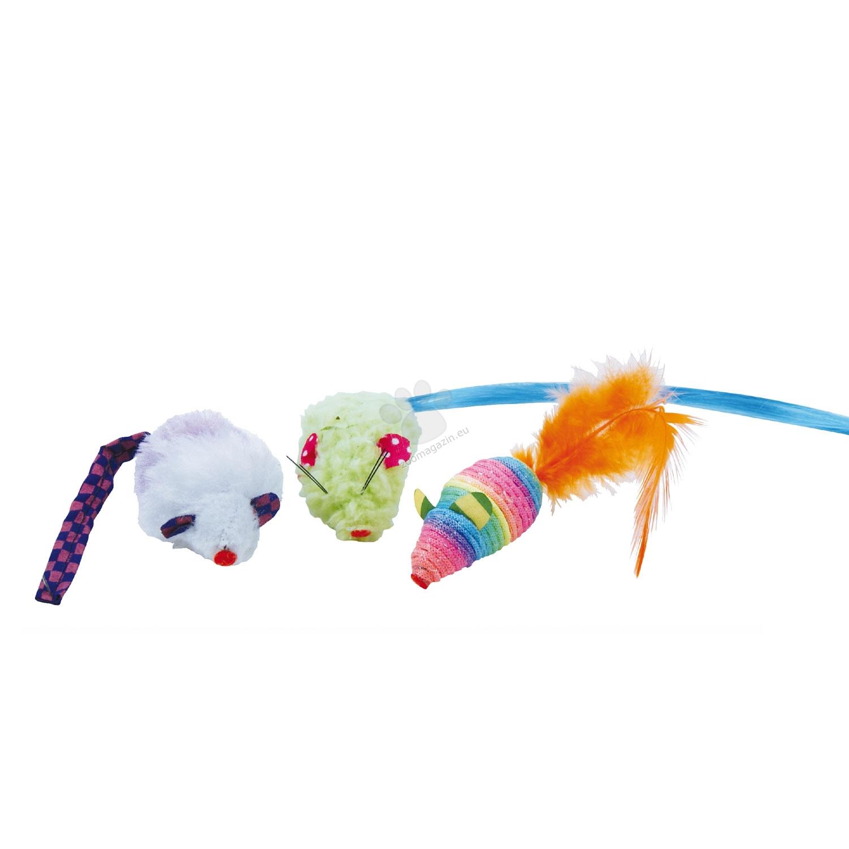 Gloria Rainbow - цветни мишлета 3 броя, 5 см.